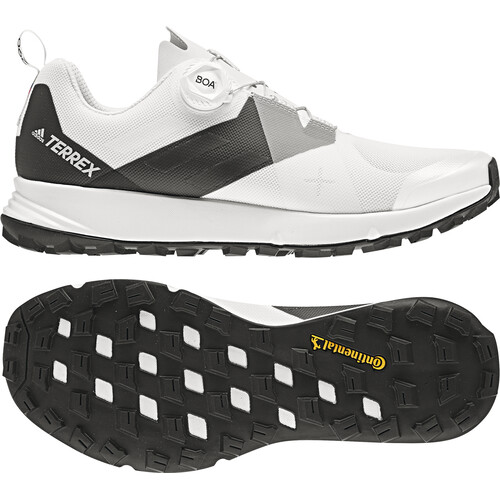 adidas TERREX Two Boa - Chaussures running Homme - blanc